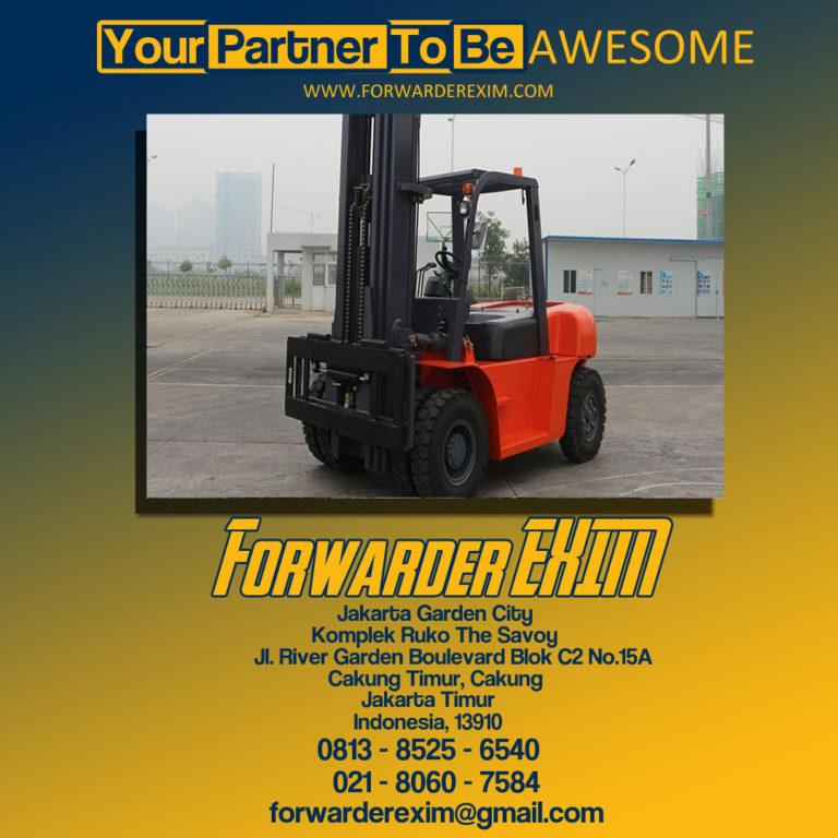 Forwarder EXIM | Jasa Import Forklift