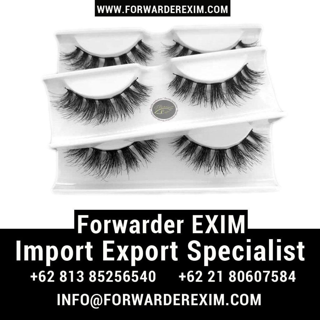 Jasa Import Bulu Mata | Jasa Import Kosmetik | Forwarder EXIM