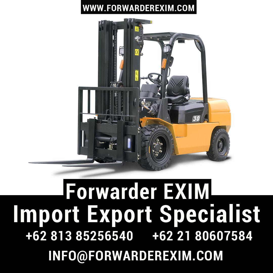 Jasa Import Forklift | Jasa Import Resmi | Forwarder EXIM