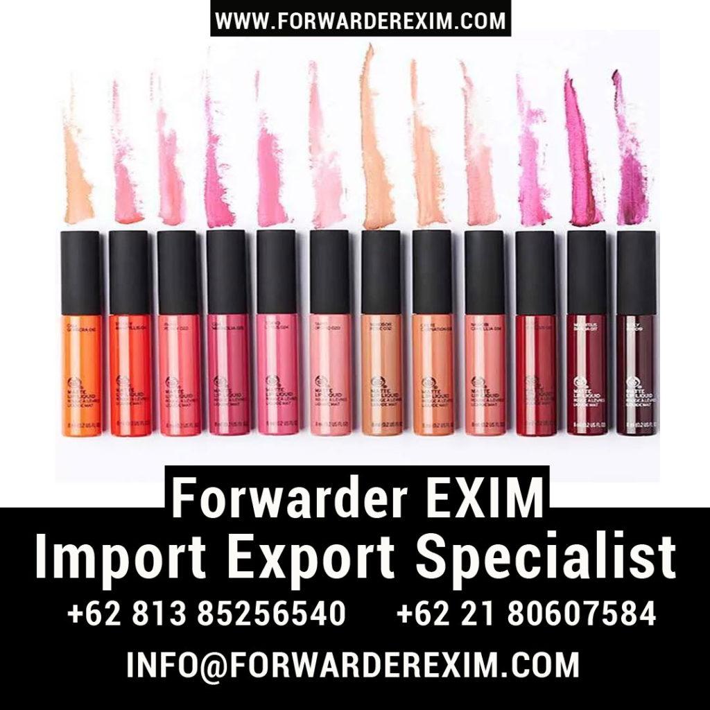 Jasa Import Lipstick | Jasa Import Alat Kecantikan | Forwarder EXIM