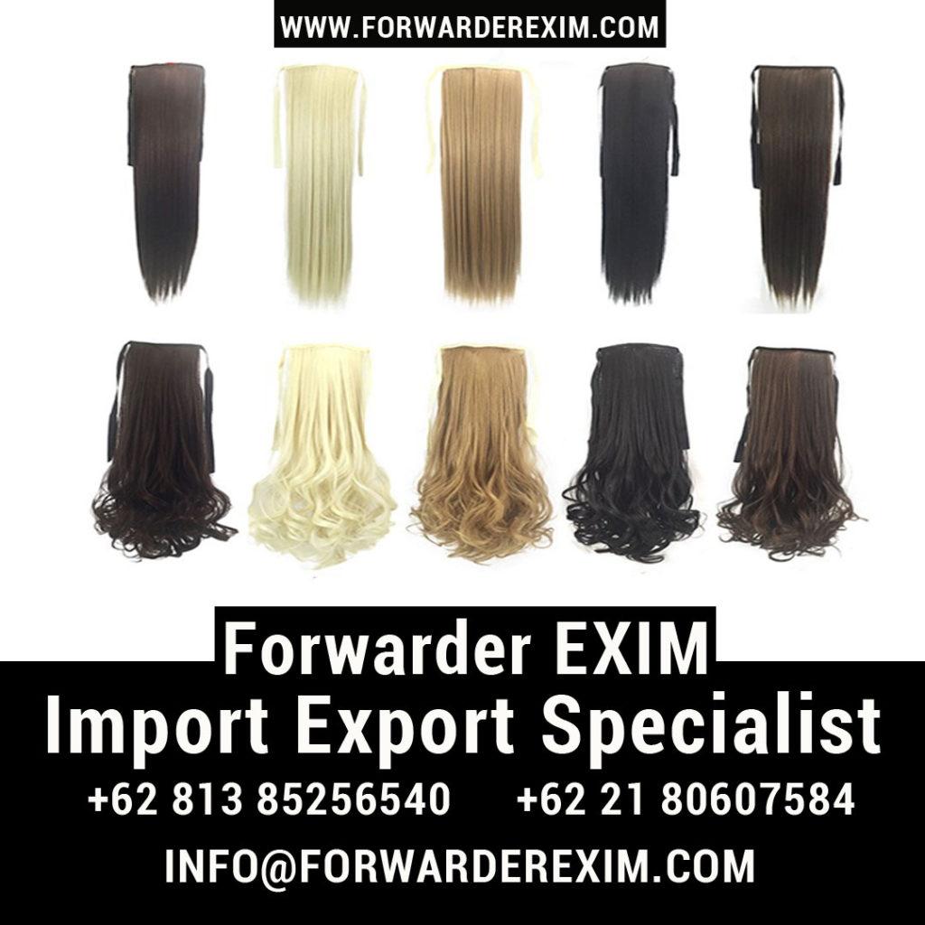 Jasa Import Rambut Palsu/Wig | Jasa Import Kosmetik | Forwarder EXIM