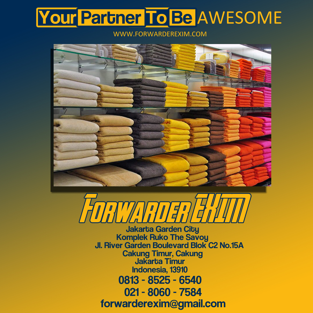 Jasa Import Textile | Forwarder EXIM