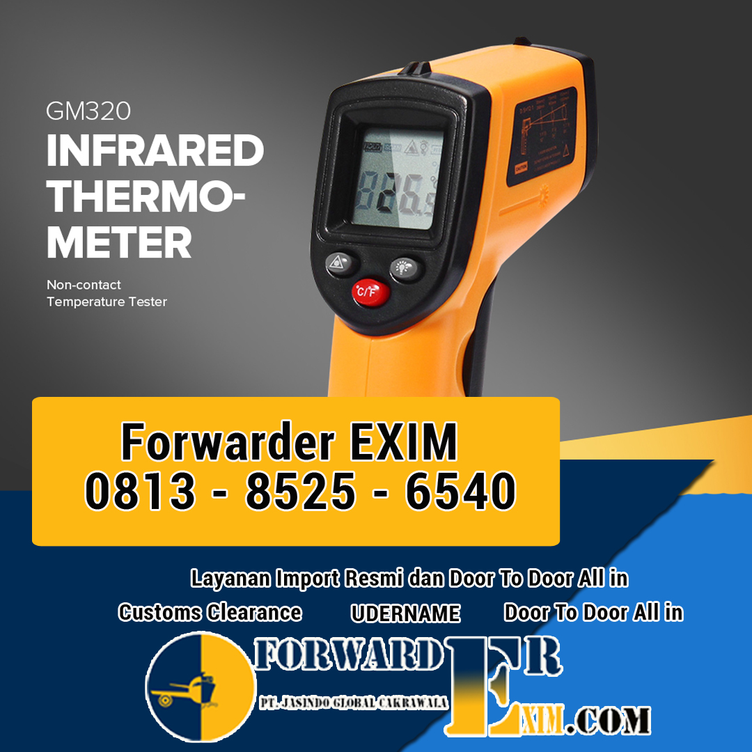Jasa Import Thermometer Infrared | Forwarder EXIM