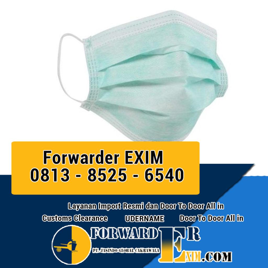 Jasa Import Masker Kesehatan | Forwarder EXIM