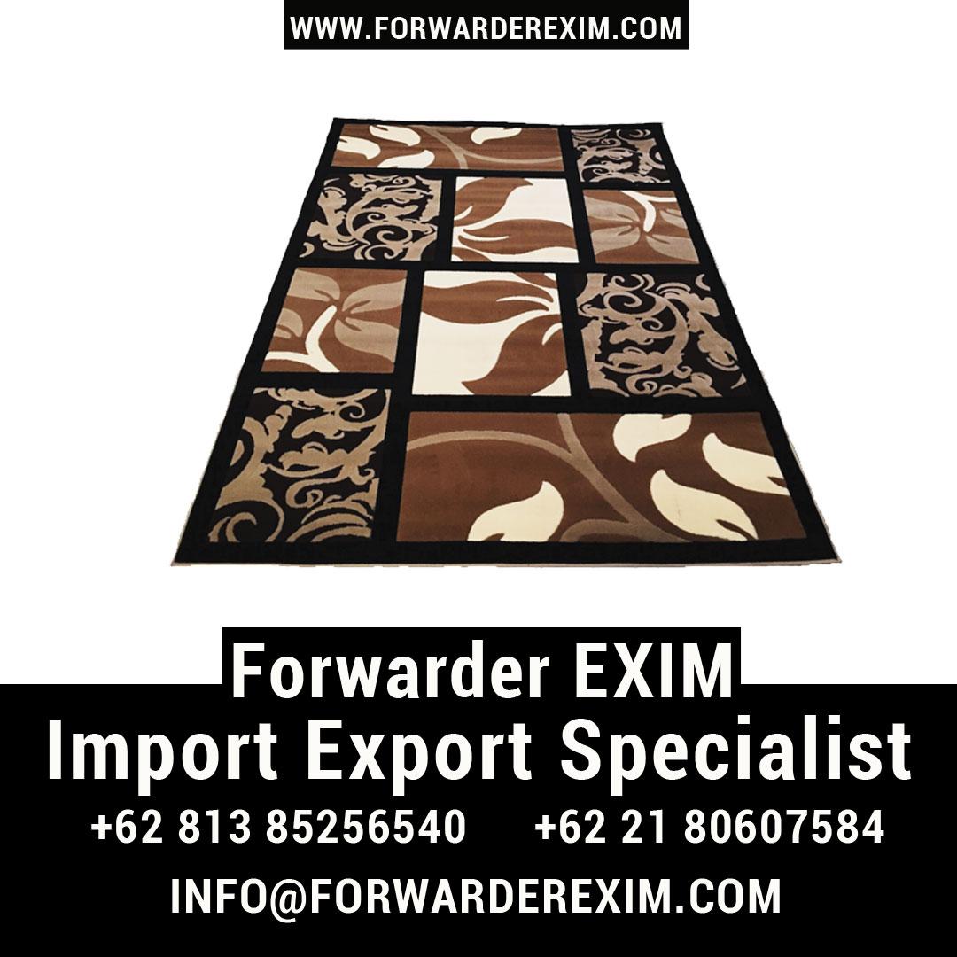 Jasa Import Karpet | Jasa Import Garment | Forwarder EXIM